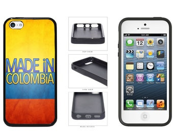 Made In Colombia Phone Case - iPhone 4 4s 5 5s 5c 6 6 Plus 7 iPod Touch