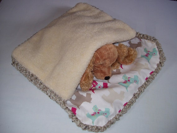 Dog Snuggle Sack Dog Burrow Bed Dog Sleeping Bag Dog
