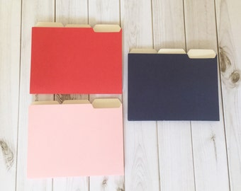 3 Mini Folders for Scrapbooking, Card Making, Business Cards, Gift Cards, Notes, Invitations