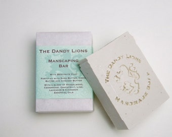 Manscaping bar enriched with Shea, Avocado and Cocoa Butters