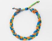 Green,Blue,Grey,Neon, (kids,baby,toddler,adult) bracelet/anklet, waterproof,string bracelet, ADVENTURE BRACELETS