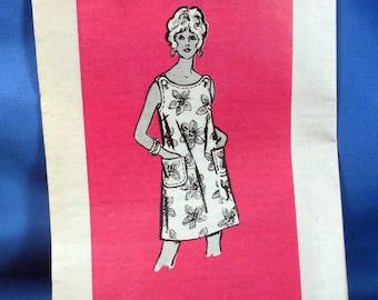 Vintage Misses Sewing Pattern, Summer Shift Dress 4764, Size 14