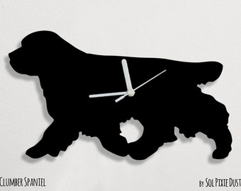 Clumber Spaniel Dog - Wall Clock