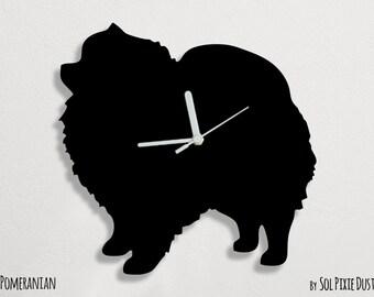 Pomeranian Dog - Wall Clock