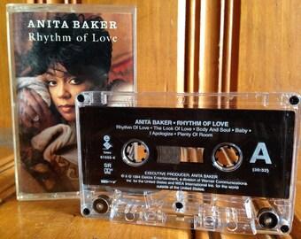 Anita Baker Rhythm of Love Cassette Tape Vintage Anita Baker Tape Rhythm of Love Tape