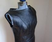Ultra Cool Kim Kory Black Leather Dress