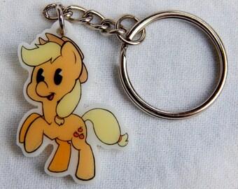 Applejack Keychain