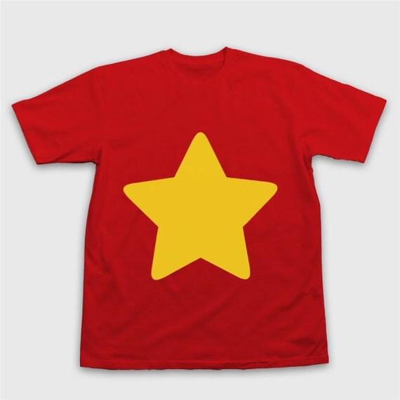 STEVEN UNIVERSE T-Shirt - Star Shirt Steven Universe Steven Universe Cosplay