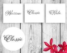 Heel Stopper Tags for Weddings and More Printable DIY Instant Download PDF JPG sz Instant download