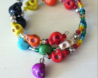 Its a Fiesta! Day of the Dead Braclet