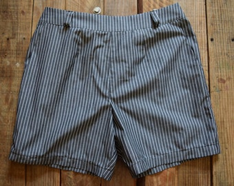 Pin Striped zip up the back Shorts 29