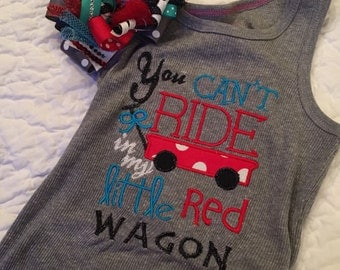 Little red wagon tank