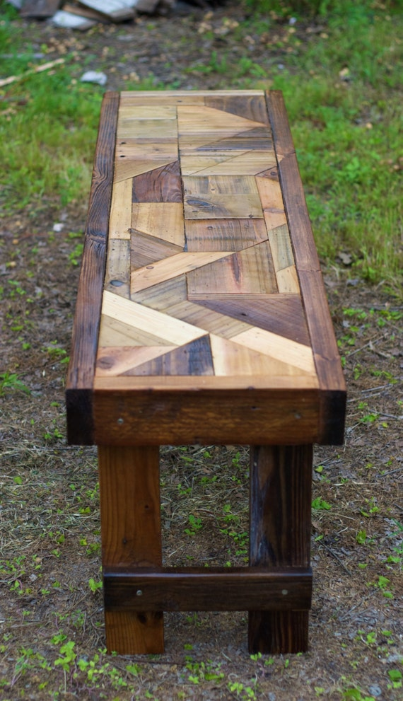 Reclaimed Wood Dining Room Table Bench Custom Order