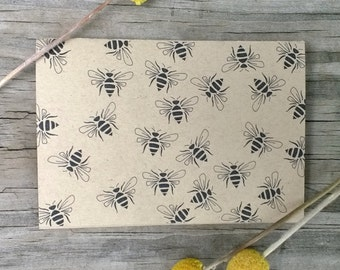 Bee Note Card Set, Bee Thank You Card Set, Bee Cards