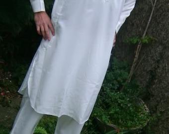 Mens Afghan Pakistan indian suit dress costume fancy shalwar kameez shirt kurta