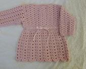 Crochet Pattern- Baby Girl Dress