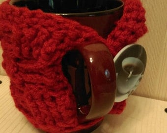 Large coffee tea cup cozy