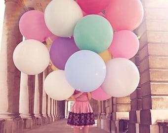 "36"" giant balloon big round balloons super large round wedding decor photo prop birthday wedding"