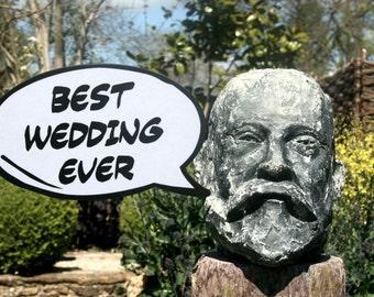 Best Wedding Ever Luxury Photo Booth Speech Bubble Prop 013-800