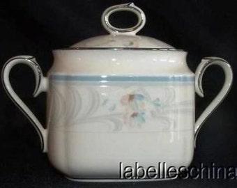 Noritake Evermore Covered Sugar Bowl and Lid 9735