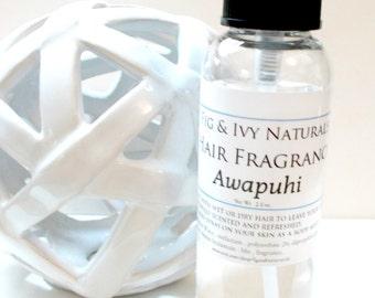 Awapuhi Hair Perfume - Hair Fragrance - Scented Hair Mist  - Natural Hair Spray