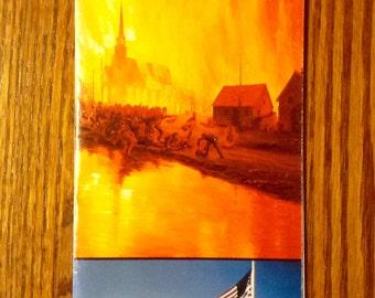 Vintage Peshtigo Fire Brochure