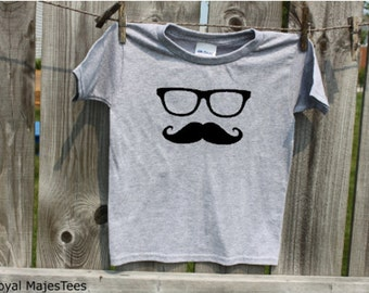 Kids Mustache Shirt, Moustache Shirt