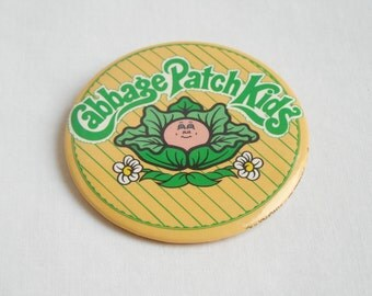 Cabbage Patch Kids Button 1983