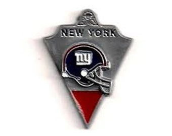 New York Giants Football Charm