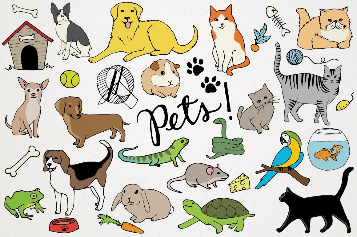 free clipart for dogs and cats - photo #44