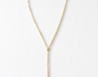 Y elephant necklace