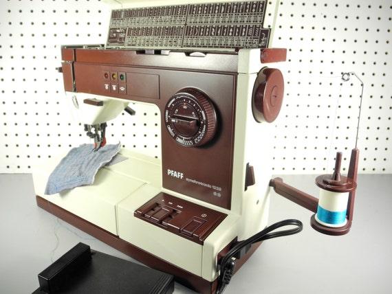 Pfaff Sewing Machine Model 1229 Good Condition