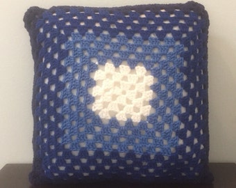 Decorative Blue Ombre Pillow