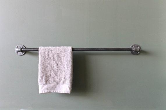 towel bar towel rack towel holder rustic towel bar