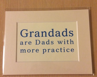 Grandad A5 Print