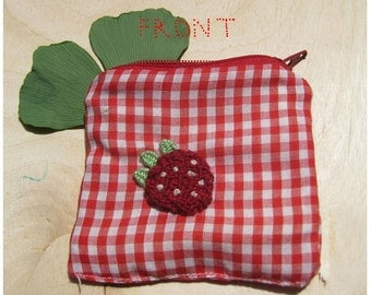 orange + strawberry pouch
