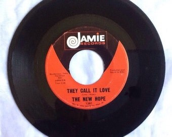 The New Hope They Call It Love and Won't Find Better (Than Me) 45 1969 Vintage Vinyl Record