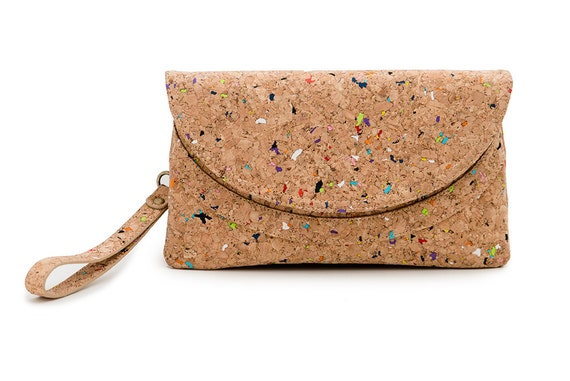 Candy Cork Clutch
