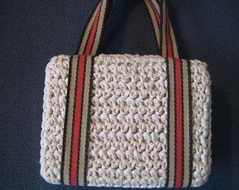 Woven Rafia Handbag by Stylecraft Miami