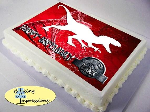 Indominus Rex Cake Topper