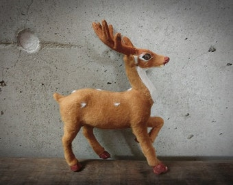 8 inch Deer doll---Handmade animal dolls