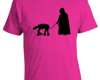 Darth Vader Walking AT-AT T Shirt
