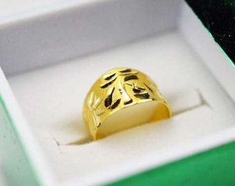 24k Korean gold baby ring birthday .999 pure banji ban don (1.875 grams) 반돈 돌반지 with GIFT BOX