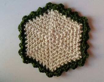 Hexagon Jute Pot Stand