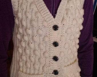 Sweater vest   Bubbles