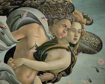 "Sandro Botticelli ""The Birth of Venus"" c1485 Reproduction Digital Print Venus Creation Birth Wall Hanging"