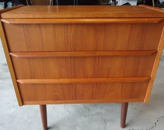 Mid Century Rosewood  Entry Table / marked BB DENMARK
