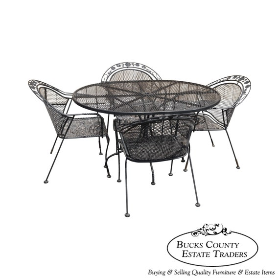 Quality Expanded Metal Iron Patio Table Amp By