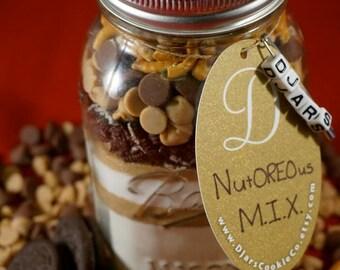 NutOREOus M.I.X. - Mason Jar Cookie Mix