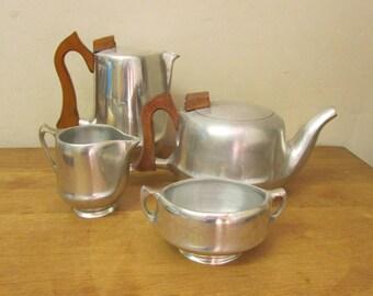 Vintage Picquot Ware tea service